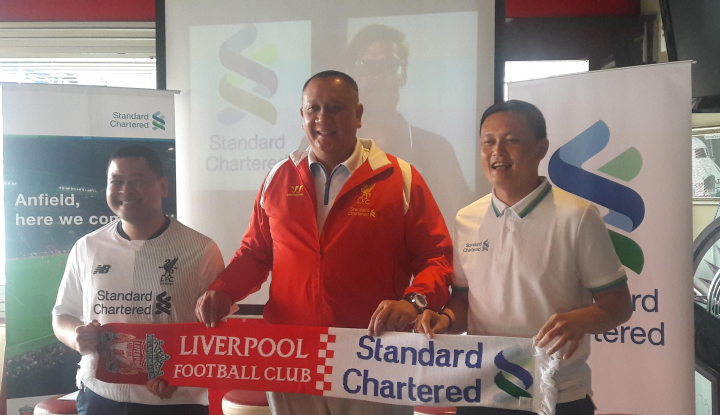 Foto Gelar SC Cup 2017, Standard Chartered-Liverpool Pererat Kerja Sama
