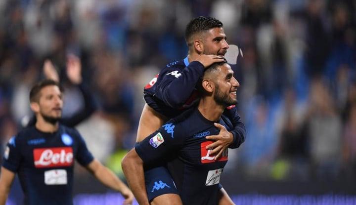 Foto Berita Napoli Raih Kemenangan Berkat Dukungan VAR