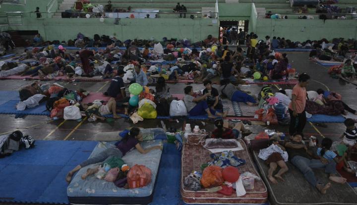 Foto Berita Wapres JK Pantau Logistik Pengungsi Gunung Agung