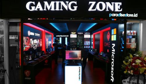 Foto Paradise Store Buka Gaming Zone, Toko Para Pencinta Game