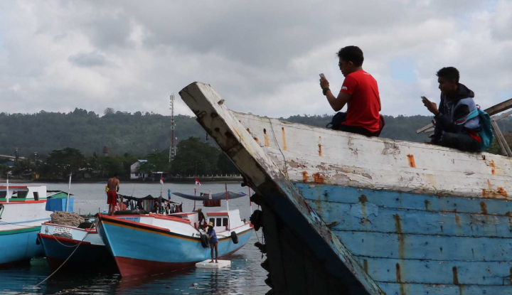 Foto Berita KKP Tebus 5 Nelayan yang Ditangkap di Malaysia