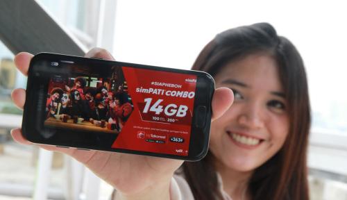 Foto Libur Nataru, Trafik Data Telkomsel Naik 42%