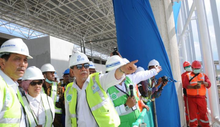 Foto Berita 2019, Luhut: Capaian Infrastruktur Bisa Sampai 90%