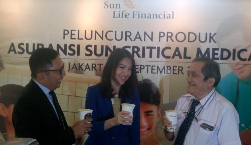 Foto Sun Life Tawarkan Produk Asuransi Seharga Secangkir Kopi