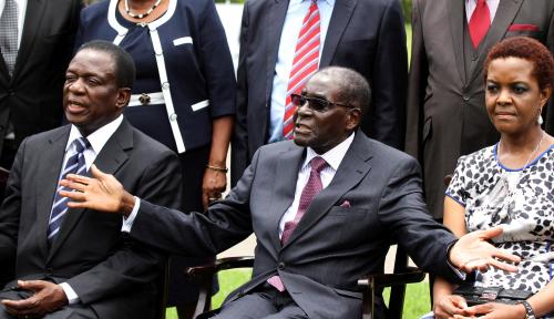 Foto 37 Tahun Menjabat, Eks Presiden Zimbabwe Kalah Tajir dari Menhan Prabowo