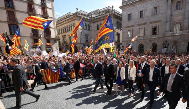 Foto Berita Pariwisata Catalonia 'Merosot Tajam' Imbas dari Krisis