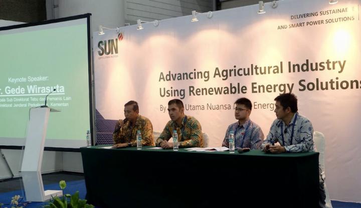 Foto Berita Hemat Energi, SUN Renewable Energy Dorong Penggunaan Panel Surya