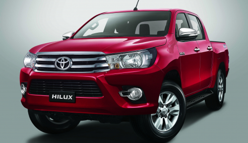 Foto Perkuat Pasar 4x4, Toyota Segarkan Hilux