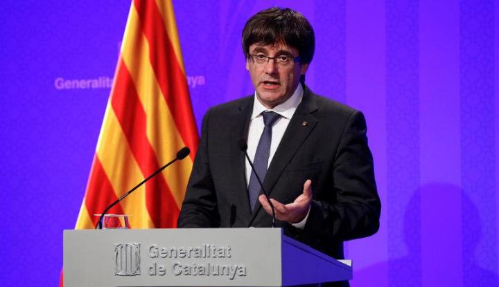 Foto Berita Pemimpin Catalonia: Kita Akan Deklarasikan Kemerdekaan