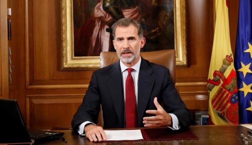 Foto Spanyol Sah Ambil Alih Pemerintah Catalonia