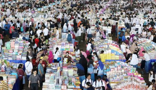 Foto Dinas Kabupaten Temanggung Gelar Temanggung Bookfest