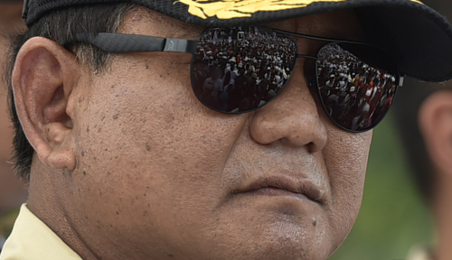 Foto Prabowo: Jangan Berikan Satu Jengkal Tanah pada Asing