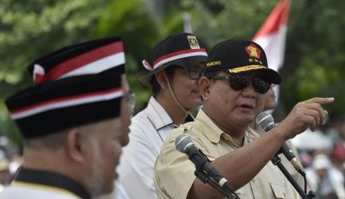 Foto Prabowo: Si Kuat Makin Merajalela, Si Lemah Makin Tertindas