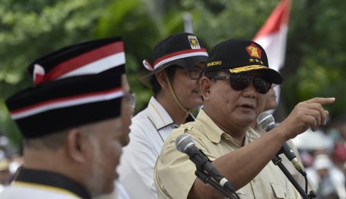 Foto Ketua PAN: Prabowo Tak Ingin Negara Bubar