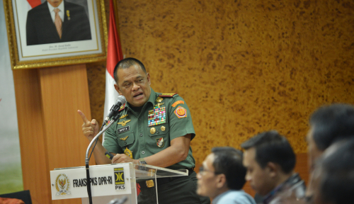 Foto Nama Gatot Nurmantyo Masuk Daftar Capres Alterntaif