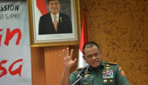 Foto Panglima TNI Jenderal Gatot Nurmantyo Kabarnya Ditolak Masuk Amerika Serikat