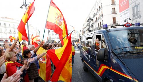 Foto Spanyol Terapkan Pemerintahan Langsung Setelah Katalunya Umumkan Kemerdekaan