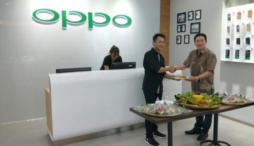 Foto OPPO Indonesia Akan Merilis Tiga Perangkat pada Kuartal I 2018