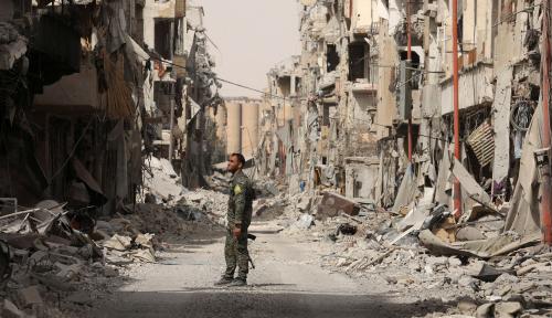 Foto Jet Tempur Rusia Bombardir Kota Oposisi di Suriah