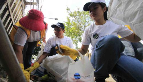 Foto Pemkot Palembang Gandeng Warga Lakukan Bersih-Bersih