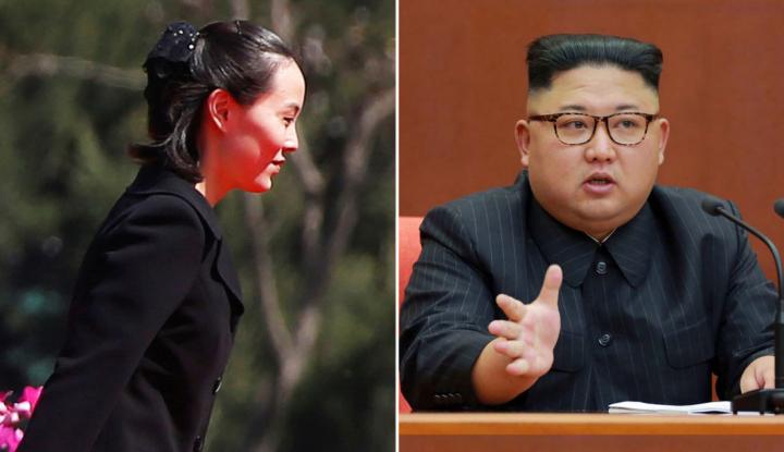 Foto Berita Saudara Perempuan Kim Jong Un Kunjungi Korsel, AS Meradang?