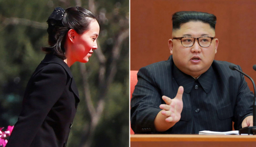 Foto Korea Utara: Kim Jong-un Promosikan Saudara Perempuan Duduki Politbiro