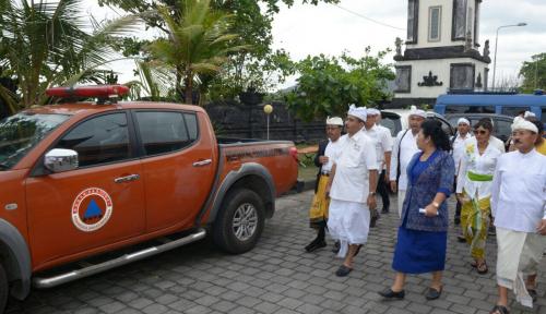 Foto Status Awas Gunung Agung, Kemenpar Bentuk Bali Tourism Hospitality