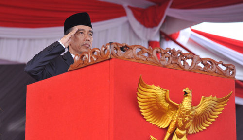 Foto Jokowi Resmi Buka Munaslub Golkar