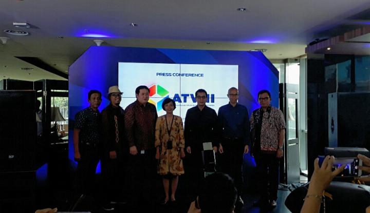 Foto Berita Wishnutama Ketuai Asosiasi Televisi Nasional Indonesia
