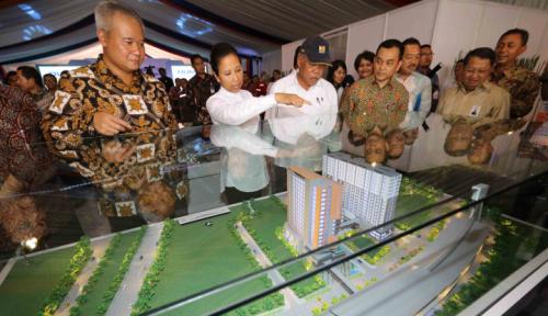 Foto Pembangunan TOD Kampung Rambutan Dimulai 2018