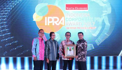 Foto AHM Raih 3 Penghargaan di Ajang IPRA 2017