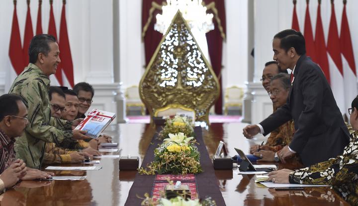 Foto Berita Jokowi Panggil Menterinya Bahas Opini WTP dari BPK