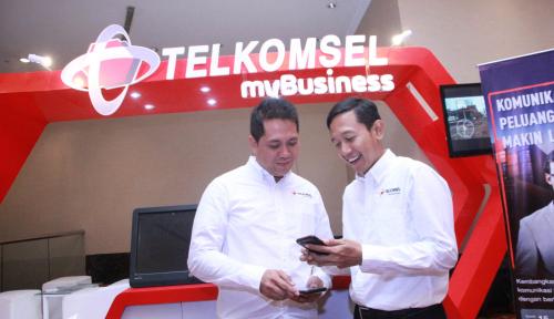 Foto Telkomsel Tawarkan Solusi Bisnis Korporasi