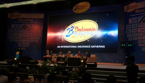 Foto Pertemukan Pelaku Asuransi, AAUI Gelar 24th Indonesia Rendezvous