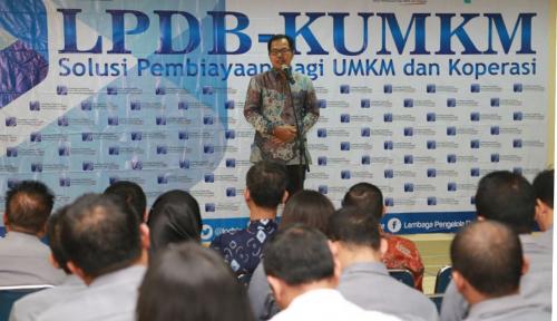 Foto LPDB KUMKM Targetkan Pengalihan Dana Bergulir Rp20 Miliar