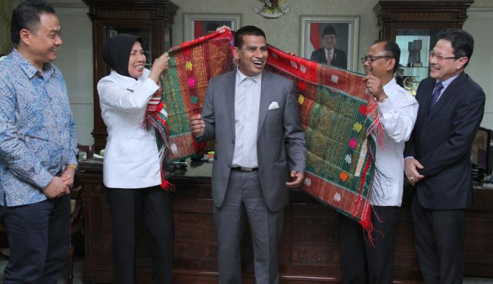 sumut sambut baik kerja sama dengan negeri perak malaysia