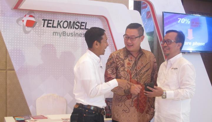 Foto Berita Telkomsel Gelar Ekshibisi MyBusiness Hingga kota Medan