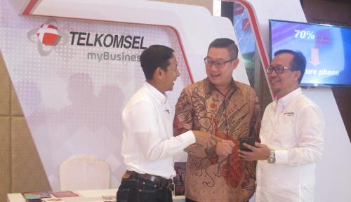 Foto Telkomsel Gelar Ekshibisi MyBusiness Hingga kota Medan