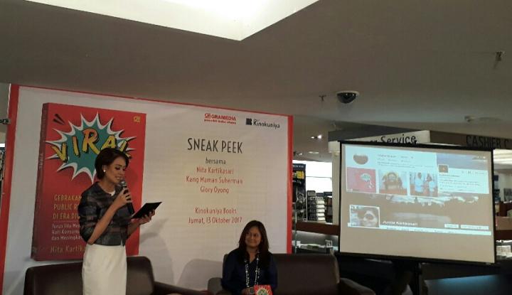 Foto Berita Nita Kartikasari Tuangkan Sejatinya PR Lewat Buku Pertamanya