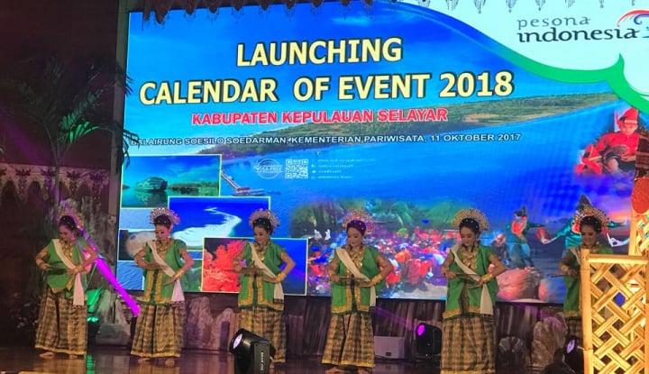 ini jadwal event kepulauan selayar 2018