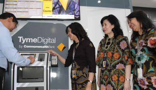 Foto Bank Commonwealth Luncurkan Digital Branch