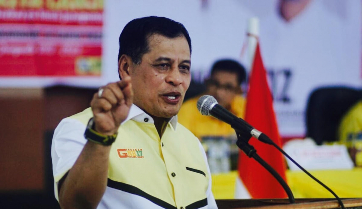 Foto Berita Jadi Bakal Cagub Sulsel, Nurdin: Kalau Saya Terpilih Saya Akan...