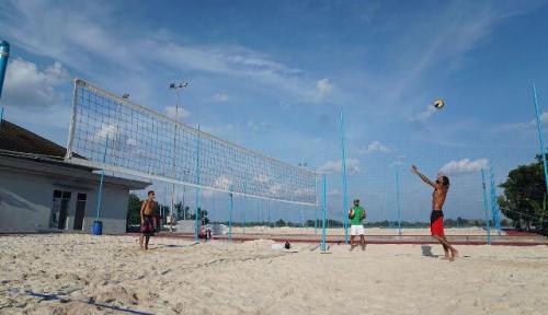 Foto 15 Negara Ikut Tes Voli di Event Asian Games Palembang