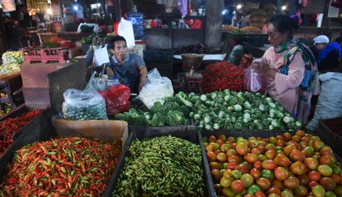 Foto Jelang Ramadan, Harga Pangan di Medan Menurun