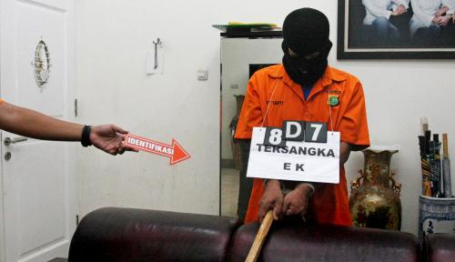 Foto Pembunuhan di Apartemen Green Pramuka City, Motifnya Sakit Hati Ditolak dan Dimaki-maki