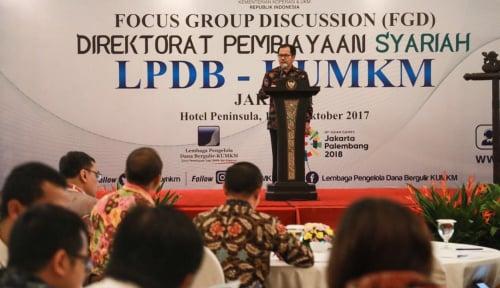 Foto Direktorat Pembiayaan Syariah LPDB-KUMKM Diharapkan Mampu Membangun Ekonomi Syariah