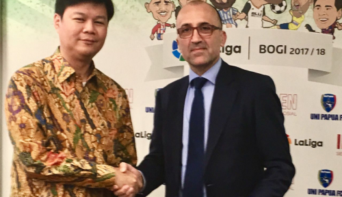 Foto Yayasan Generasi Indonesia Gandeng La Liga Spanyol Kembangkan Board Game