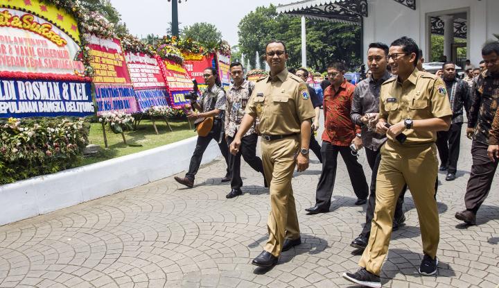 Foto Berita Baru Sehari Jadi Gubernur, Anies Sudah 'Ngomel' Begini...