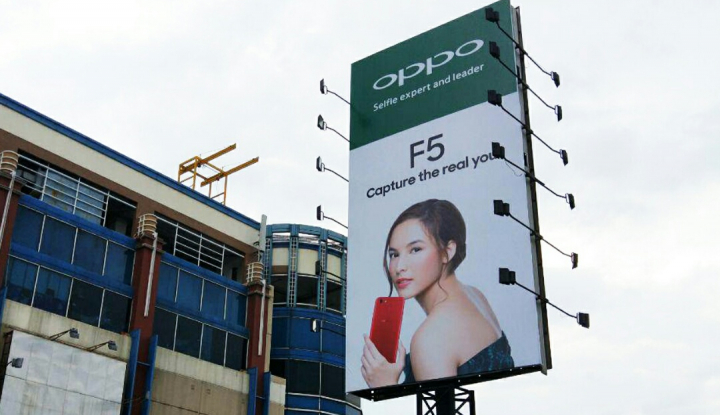 Foto Chelsea Islan Didapuk Jadi Persona Oppo F5