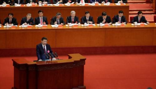 Foto Xi Jinping: Kemajuan China Luar Biasa, Tapi Tantangan Makin Banyak